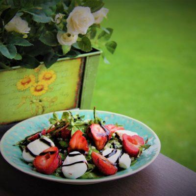 Salata de spanac, mozzarella si bulgur