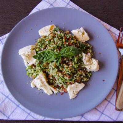 Salata libaneza Tabbouleh cu bulgur
