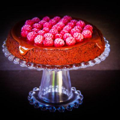 Prajitura cu sfecla rosie si ciocolata