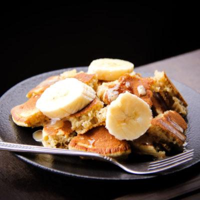 Clatite americane cu banana