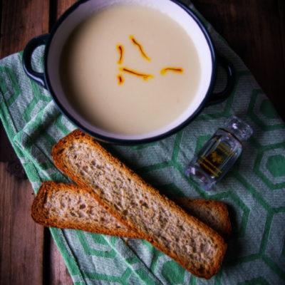 Supa crema de conopida si sofran