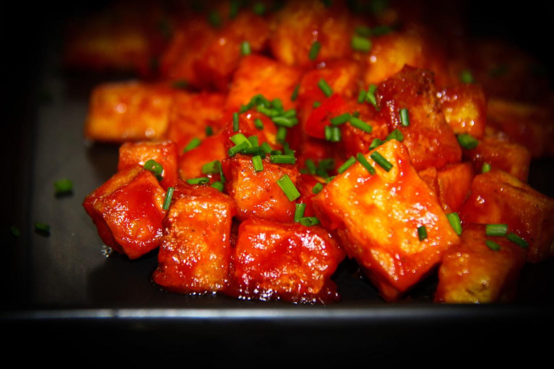 """alt=""""tofu in stil coreean cu sos torchyn"""""""