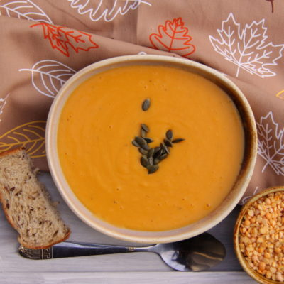 Supa crema din mazare